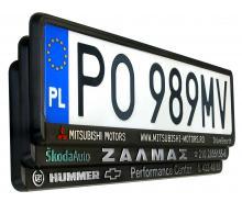 Kennzeichenhalter 3D   DE   3D Beschriftung   702001