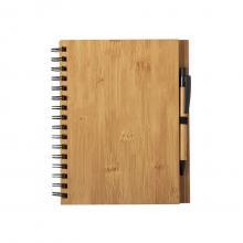 A5 | Hardcover Notizbuch | Kugelschreiber | Bambus
