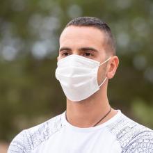 IIR Einweg-Gesichtsmaske   Polypropylen   3-lagig   Unbedruckt