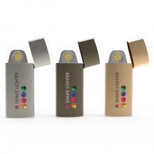 Glow-Feuerzeug | Sturmfest | USB-Ladeanschluss
