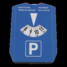 Parkscheibe mit Eiskratzer und Einkaufswagenmünzen | 72817518 Dunkel Blau