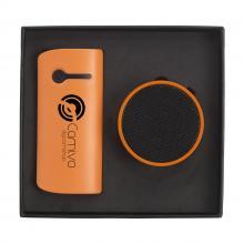 Powerbank   4.000 mAh  Geschenkset   USB-Stick