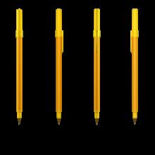 BIC Kugelschreiber Round Stic | 771010 Gelb