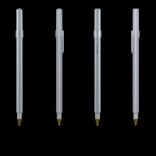 BIC Kugelschreiber Round Stic | 771010 Metall