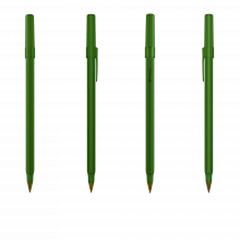 BIC Kugelschreiber Round Stic | 771010 Grün