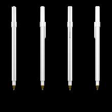 BIC Kugelschreiber Round Stic | 771010 Weiß