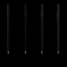 BIC Kugelschreiber Round Stic | 771010 Schwarz