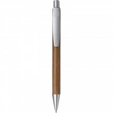 Eco Kugelschreiber 'Calgary'   Bambus   8033993 Silber