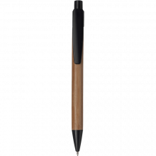 Eco Kugelschreiber 'Calgary'   Bambus   8033993 Schwarz