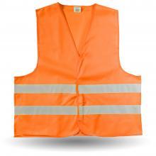 Warnweste Helion | M,XL und XXL | EN471 | Vollfarbe | 8036541 Orange