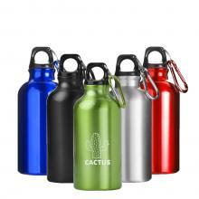 Trinkflasche mit Karabiner | 0,4 l
