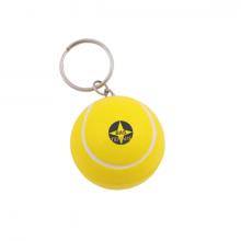 Anti-Stress Schlüsselanhänger Tennisball