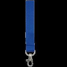 Schlüsselband 15 mm bedrucken, Polyester, in PMS-Farbe | 87315mm1 Blau