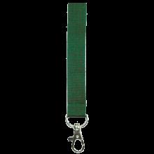 Schlüsselband 15 mm bedrucken, Polyester, in PMS-Farbe | 87315mm1 Grün