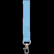 Schlüsselband 15 mm bedrucken, Polyester, in PMS-Farbe | 87315mm1 Hellblau