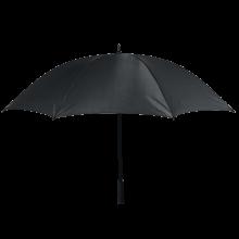 Regenschirm Stockholm - Ø 130 cm | Fiberglas | Schaumstoffgriff | 8755187 Schwarz