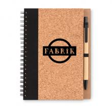 Ringbuch Notizbuch | Kork | A5 | Mit Stift