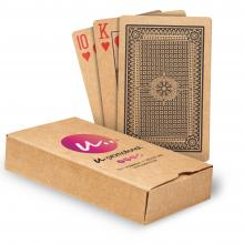 Spielkarten   Aufdruck Schachtel   Recyclingpapier