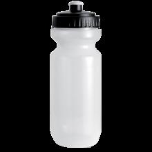Trinkflasche mit farbigem Deckel | 0,575 l | 8797851 Schwarz