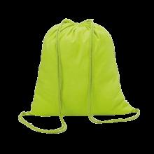 Baumwoll Rucksäcke | 100 g/m2 | Farbig | 8798484 Lime