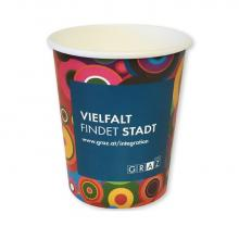Doppelwand Pappbecher | Fullcolour | 300 ml
