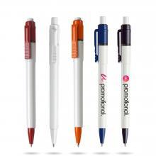 Kugelschreiber Baron | farbige Akzente | Vollfarbe
