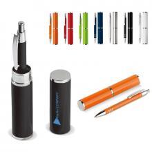 Kugelschreiber in Köcher