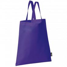 Non Woven Tragetasche | kurze Henkel | 9191378 Violett