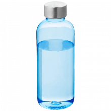 Trinkflasche Spring | 0,6 l | BPA-frei | 92100289 Transparent Blau