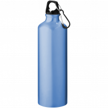 Trinkflasche mit Karabiner | 0,77 l | 92100297 Hellblau