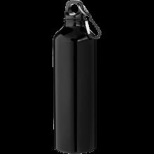 Trinkflasche mit Karabiner | 0,77 l | 92100297 Schwarz