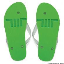 Flip Flop   Aufdruck + Relief   324445C Grün