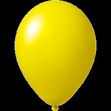 Reklameluftballon | 27 cm | 9475851 Dunkelgelb
