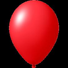 Reklameluftballon | 27 cm | 9475851 Rot