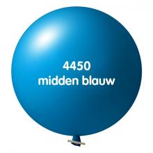 Riesenluftballon | 80 cm | Qualitätsdruck | 948501 Mittel Blau