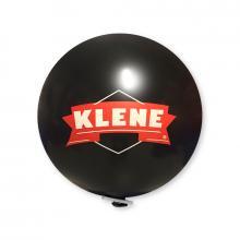 Riesenluftballon | 80 cm | Qualitätsdruck | 948501 Schwarz