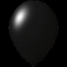 Reklameluftballon | 33 cm | 9485951 Schwarz