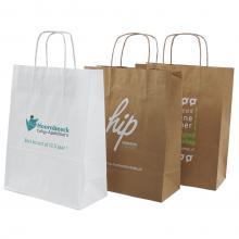 Papiertasche | DIN A4 | Kordelgriff | Eco | Maxp017
