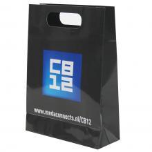 Bunte Tasche mit DKT-Griff (DIN A4)