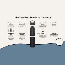 BE O Flasche | Wasserflasche aus Zuckerrohr  | 500 ml | 8843312