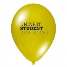 Luftballon | Transparent & schnell | 14a100chr Gelb