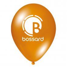Luftballon | Transparent & schnell | 14a100chr Orange