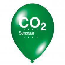 Luftballon | Transparent & schnell | 14a100chr Grün
