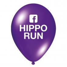 Luftballon | Transparent & schnell | 14a100chr Violett