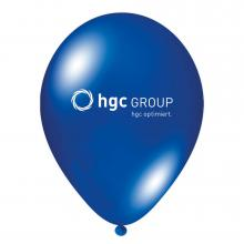 Luftballon | Transparent & schnell | 14a100chr Blau