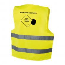 Gelbe Warnweste | Einheitsgröße | Kleinauflage | max8025 Neongelb