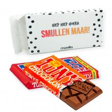 Tony's Chocolonely | Schokoriegel | 180 Gramm | In Geschenkbox