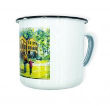 Emaille Tasse | 380 ml | Vollfarbe | max153