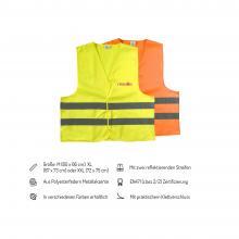 Warnweste Helion | M,XL und XXL | EN471 | Vollfarbe | 8036541