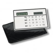 Flacher Scheckkarten-Rechner
